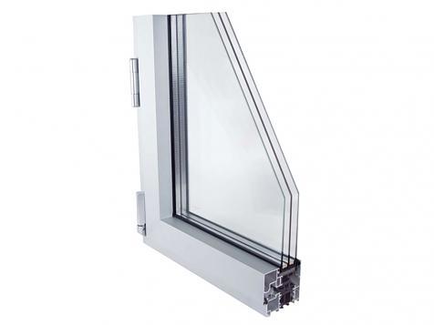 E75HO-C16. Sistema abisagrado de aluminio