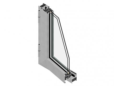 E16-45. Hinged aluminium systems.
