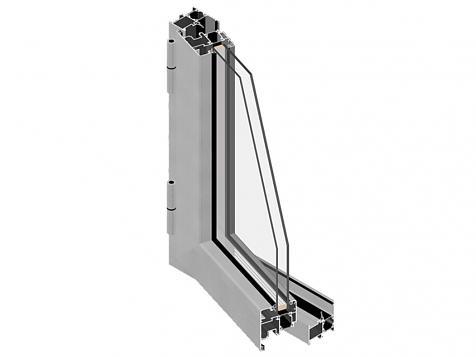 E16-55 RPT. Sistema abisagrado de aluminio
