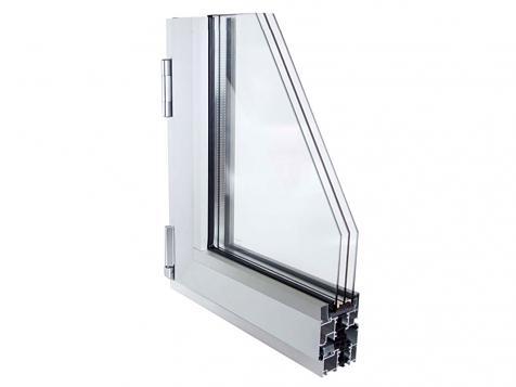 E65-C16. Sistema abisagrado de aluminio